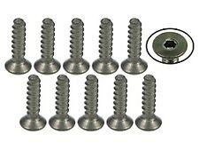 TS-FSM208S 3Racing M2 x 8 Titanium Flat Head Hex Socket - Self Tapping (10 Pcs)