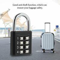 2PC Security Password Lock Travel Suitcase Bag Padlock 8 Digit Codes Waterproof