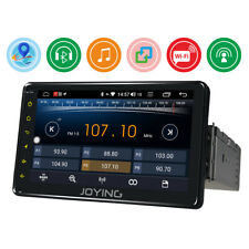 JOYING Single 1 Din Android Car Stereo Radio 7 Inch In Dash Head Unit 1080P USB