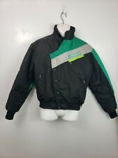 Vintage Arcticwear Arctic Cat Jag snowmobile jacket black gray green sz M