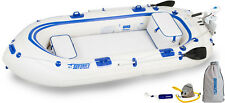 SEA EAGLE SE9 WATERSNAKE MOTOR PACKAGE INFLATABLE RUNABOUT BOAT TENDER DINGY