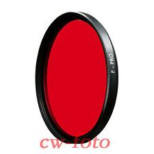 B+W BW B&W Schneider Kreuznach Rot Filter Hell 090 vergütet 67 mm 67mm in Box