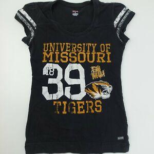 University of Missouri Go MU Women's T-Shirt Size L Mizzou