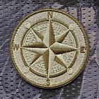 Ursuz Kompass Bushcraft Nord Aufnäher Patch Morale Bundeswehr Scout Orientierung
