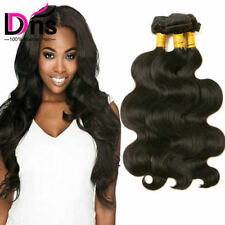 8A 3 Bundles 100% Human Hair Weave Body Wave Brazilian Unprocessed Virgin Hair