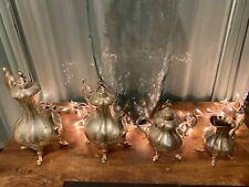 Reed & Barton Silverplate WINTHROP (#1795) 4-PC Coffee/Tea Set