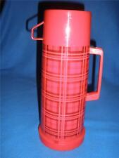 RETRO ALADDIN VACUUM FLASK WITH CUP LID RED TARTAN