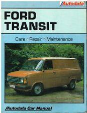 FORD Transit 4 manuale di istruzioni 1998 MANUALE MANUALE BA