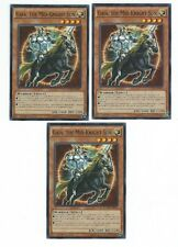 X3 YUGIOH GAIA THE MID-KNIGHT SUN DUEA-EN091 COMMON IN HAND 1ST