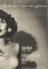 5/11/83PN18 ADVERT: DALEK ALBUM & CASSETTE I LOVE YOU 7X5