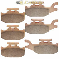 Brake Pads CAN AM OUTLANDER 500 MAX STD XT 4x4 Front Rear Brakes 2007-2011