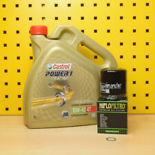 Triumph 800/955 fino a 2004 Oelwechselset Olio Filtro Castrol Power 1 Racing