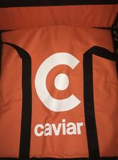 """(4) Caviar Pizza Delivery Bag Thermal Insulated 20""""x 20"""" Nylon holds 4 x 16"""" Pi"""