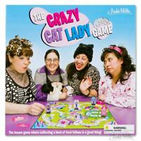 The Crazy Cat Lady Board Game Family Fun for Cat Lover Accoutrements
