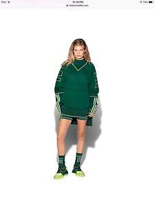 BNWT Adidas X Ivy Park Drip 2 Green Cargo Sweatshirt (UNISEX)