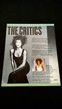 Whitney Houston #1 Album All Over The World! Rare Original Print Promo Poster Ad