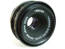 Carl Zeiss TESSAR 50mm f/2.8 M42 42mm Pentax Praktica Faulty Iris Spares Repair