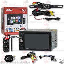 "BOSS BV9384NV CAR 6.2"" LCD DVD USB GPS BLUETOOTH STEREO FREE LICENSEPLATE CAMERA"