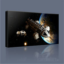 SPACE 1999 SUPERB EAGLE TRANSPORTER ICONIC CANVAS ART PRINT PICTURE Art Williams