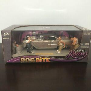 2005 JADA HOMIE ROLLERZ DOG BITE '55 CHEVY BEL AIR SEALED BOX 1/24 SCALE RARE