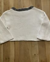 Womens Zara Knit Crop Top Size S