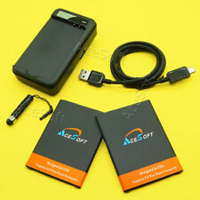 For LG V20 H910 H918 VS995 H990 LS997 US996 Battery 2x 4170mAh + Charger Cable