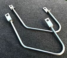 Satteltaschenhalter Honda VT 1100 C Shadow, chrom, Abstandshalter, Halter