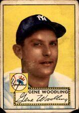 Gene Woodling 1952 Topps #99 Yankees Poor 61127