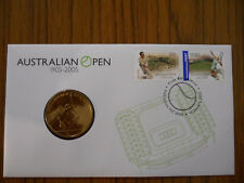 2005 $5 Australian Open Tennis PNC/FDC COVER