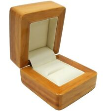 Luxury Real Wood Proposal Presentation Ring Box Engagement Case - SP117A