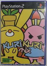 COMPLET jeu KURI KURI MIX playstation 2 sony PS2 lapins simulation game vintage