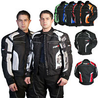 Tuzo Terrain Mens Motorcycle Motorbike Summer Waterproof Sports Textile Jacket
