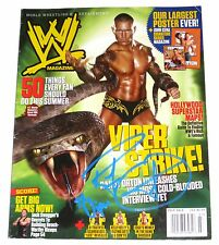 WWE RANDY ORTON HAND SIGNED AUTOGRAPHED MAGAZINE WITH PROOF AND COA 4