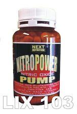 Nitro Power Pump Stimulating Nitric Oxide Arginine AKG Ornithine 120 tablets
