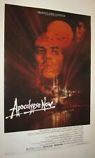 Apocalypse Now Movie Poster, Brando, Martin Sheen, Duvall, Dennis Hopper