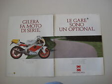 advertising Pubblicità 1990 MOTO GILERA 125 SP02 SP 02