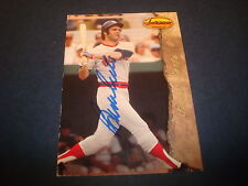 Bernie Carbo 1993 TWCC #2 Red Sox HOF Reds Signed Authentic Autograph M7