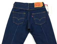 Levis 501 x Karla Welch Front Pleated Jeans Womens Size 26x32 Dark Wash