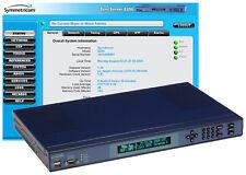 NEW Symmetricom SyncServer S200 UPGRADED GPS NTP Server Network Time Receiver