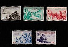 FRANCE - 1942 - LEGION DES VOLONTAIRES - CONTRE LE BOLCHEVISME - SET 5V / M/H