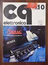 R26> CQ Elettronica Edizioni CD Bologna n.10 ottobre 1979