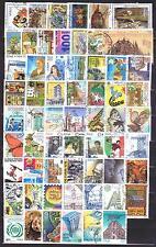 1996U ITALIA 1996 Annata completa USATA 62 val. (inclusa coppiola Expo MI), otti