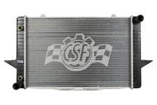 Radiator-1 Row Plastic Tank Aluminum Core CSF 3331