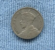 1934 New Zealand Silver Florin NZ SHOWS 8 Softer Pearls  T-202