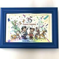 Tokyo Disney Resort 35th Anniversary Framed Mirror Mickey Minnie Donald