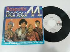 """Boney M Rasputin - 1978 Ariola Spain Edition - Single Vinilo 7"""""""
