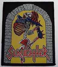 slaughter    WOVEN  PATCH