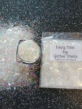 Nail Art Mixed Glitter ( Fairytale ) 10g Bag Chunky Shiny Mermaid Holographic