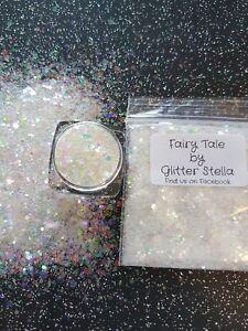 Nail Art Mixed Glitter ( Fairytale ) 10g Bag Chunky Shiny Mermaid Holographic