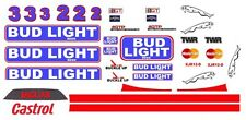 #3 BUD LIGHT Jaguar Group C 1/24th - 1/25th Scale Decals